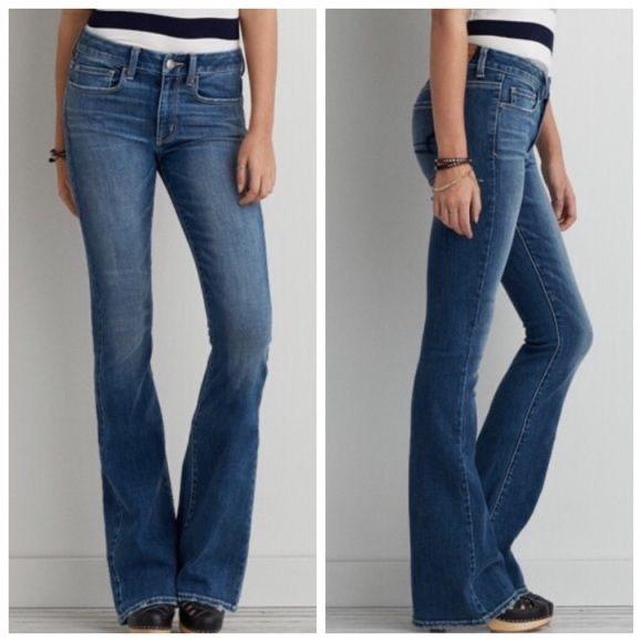 American Eagle Hi-Rise Artist Flare Jeans